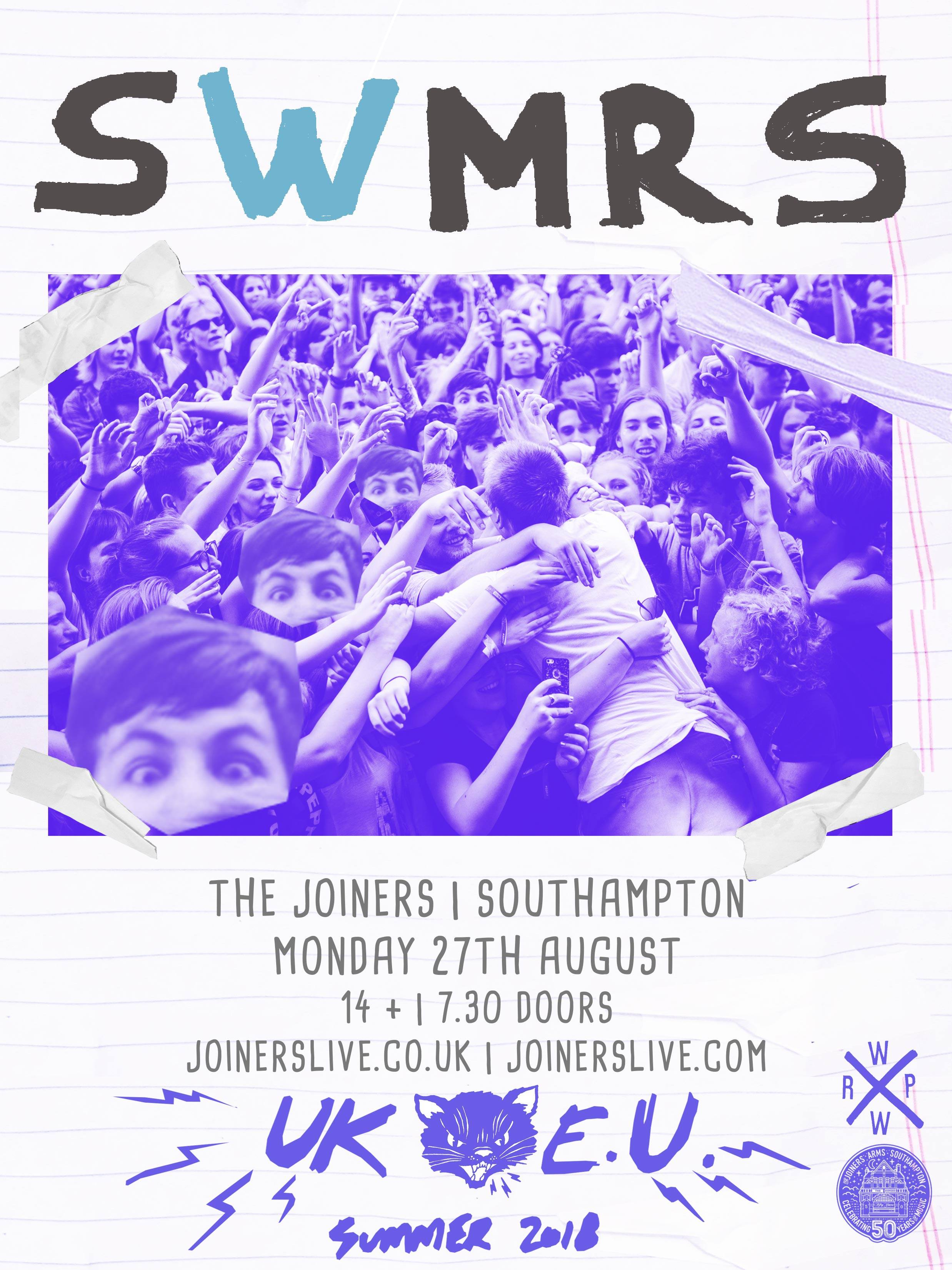 SWMRS + JERRY WILLIAMS - SOLD OUT!