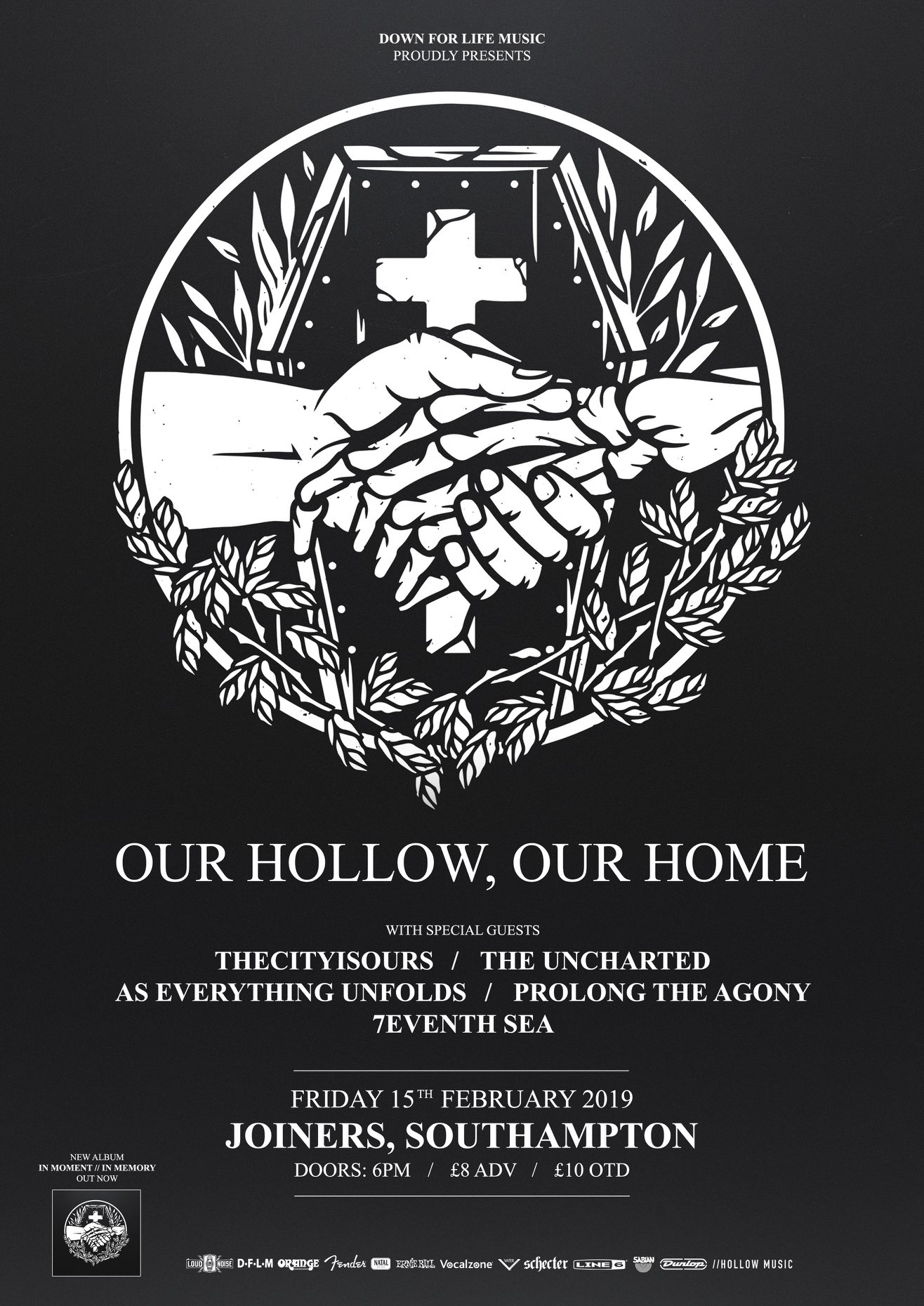 OUR HOLLOW OUR HOME + THE CITY IS OURS *SOLD OUT*