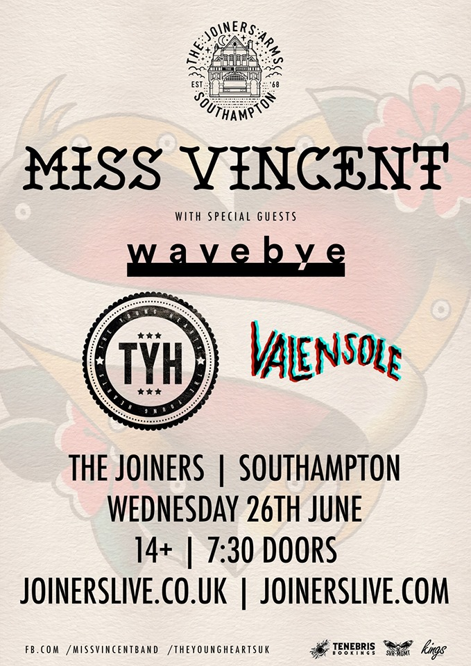MISS VINCENT + WAVEBYE