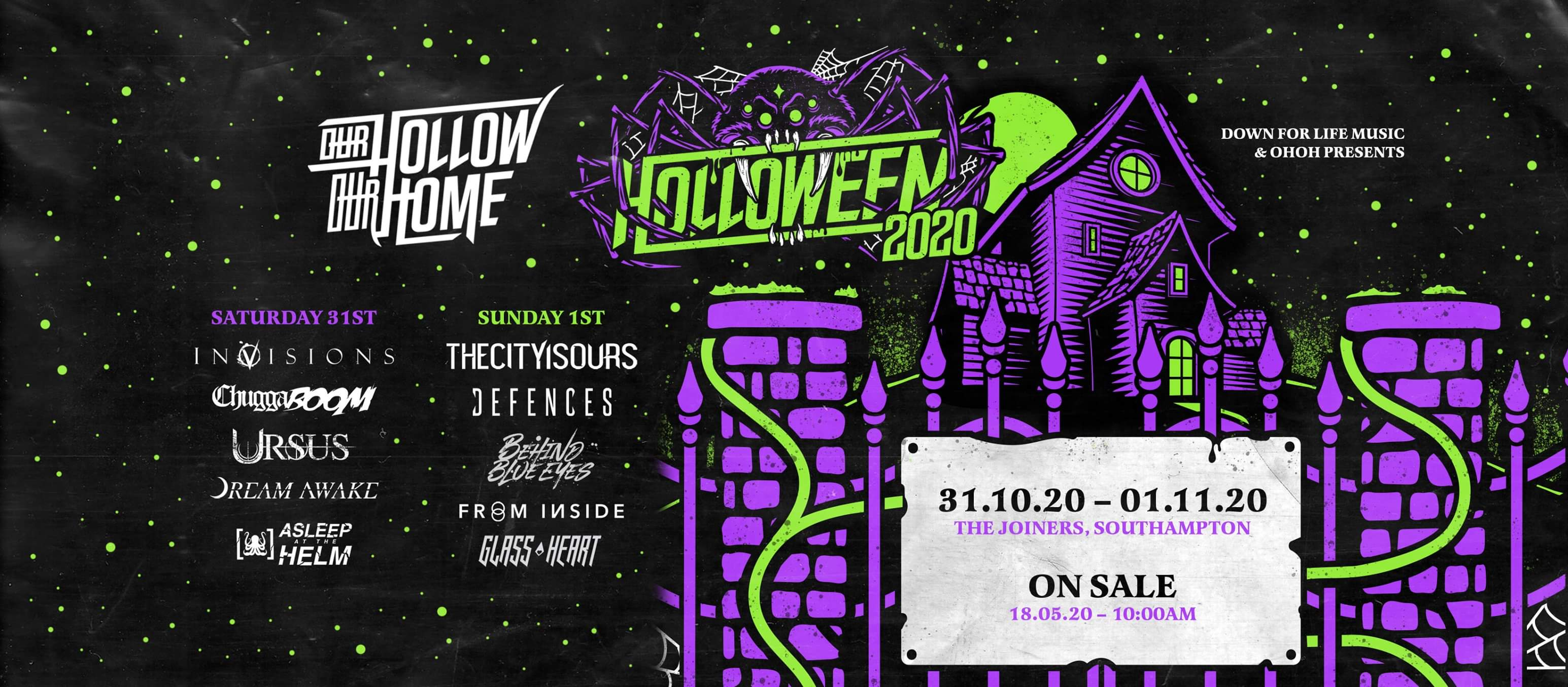 HOLLOWEEN 2020 - CANCELLED