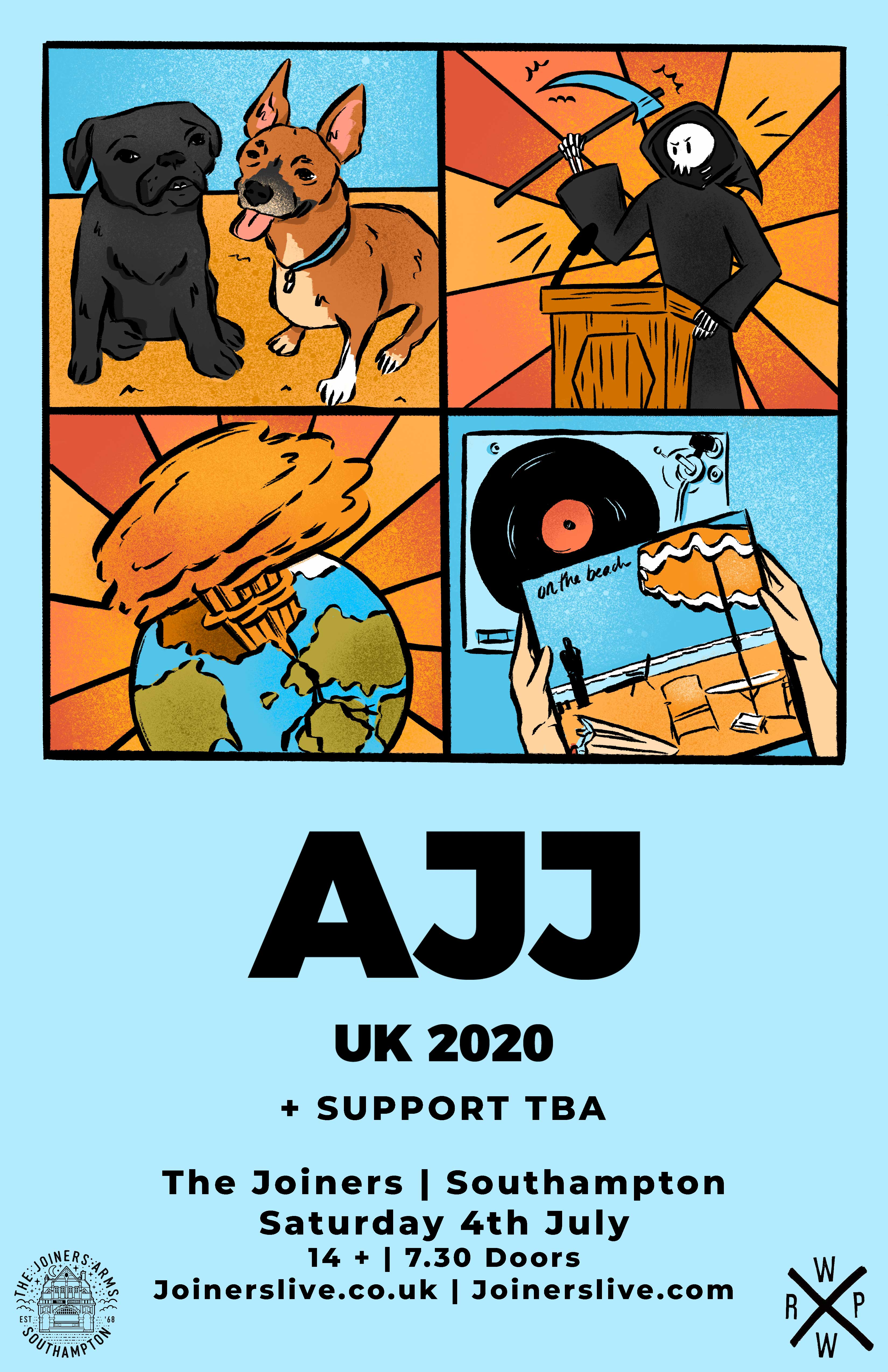 AJJ - CANCELLED - REFUNDS AUTOMATIC