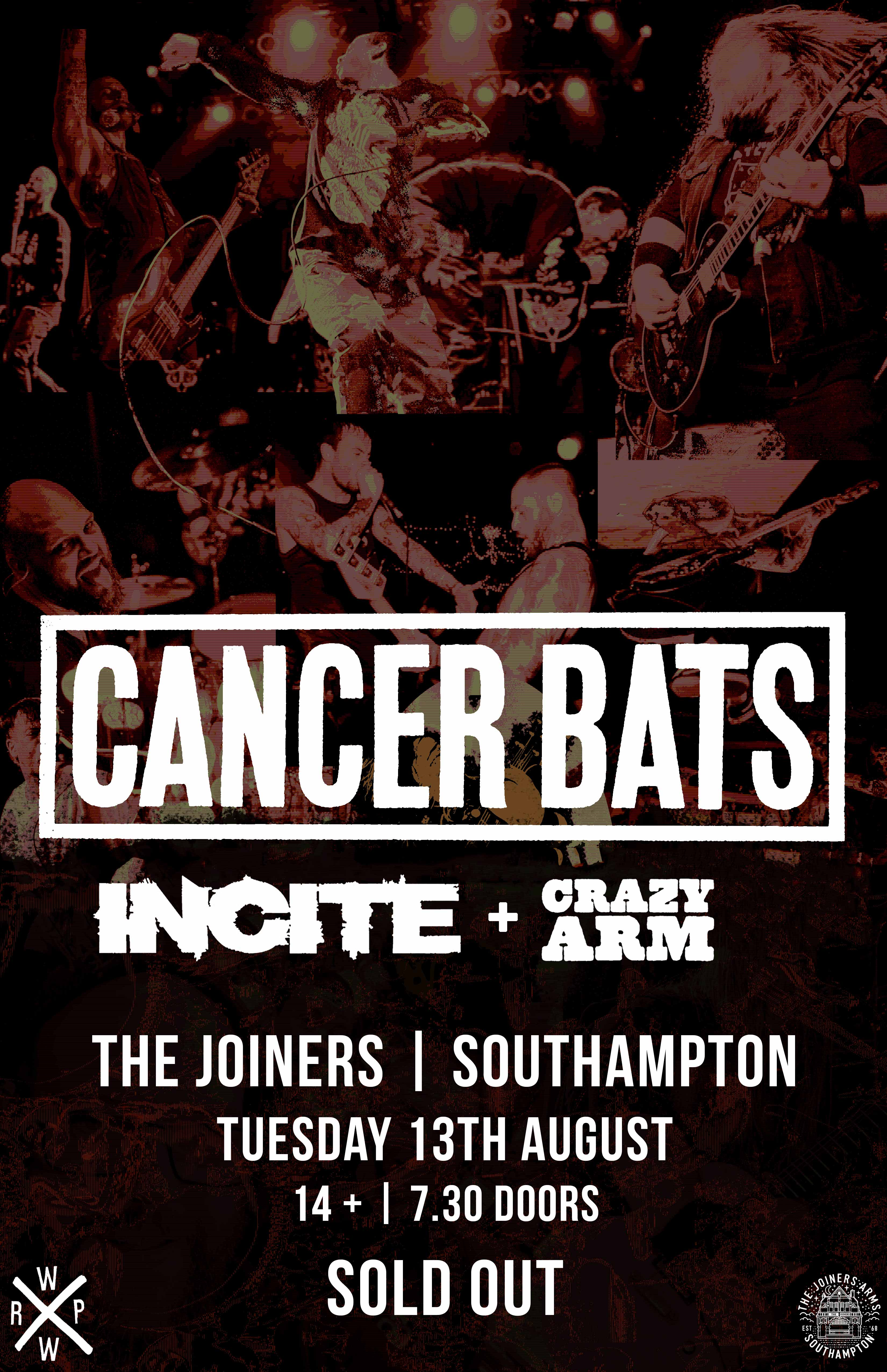 CANCER BATS *SOLD OUT*
