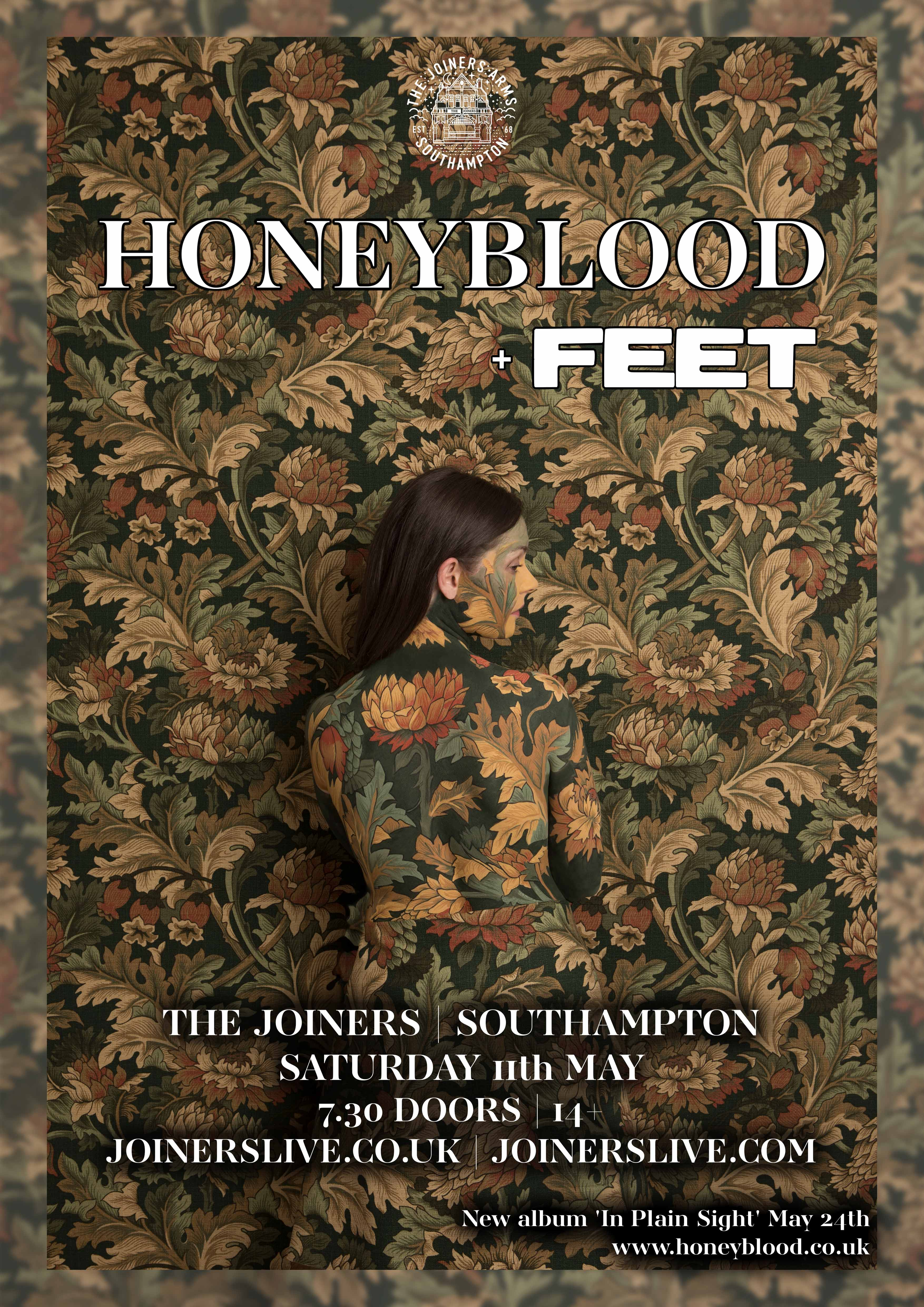 HONEYBLOOD + FEET