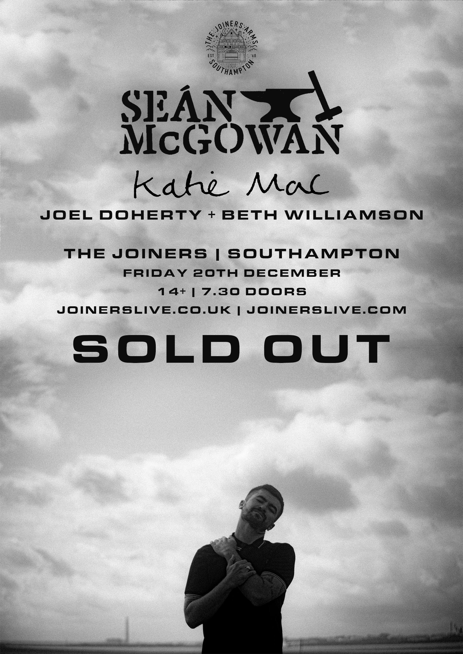 SEAN MCGOWAN * SOLD OUT *
