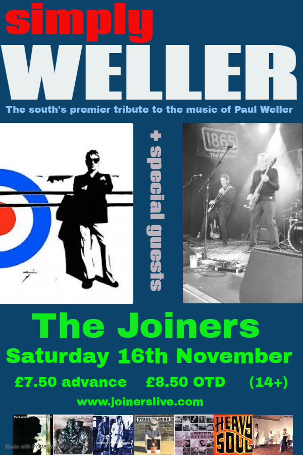 SIMPLY WELLER - PAUL WELLER TRIBUTE