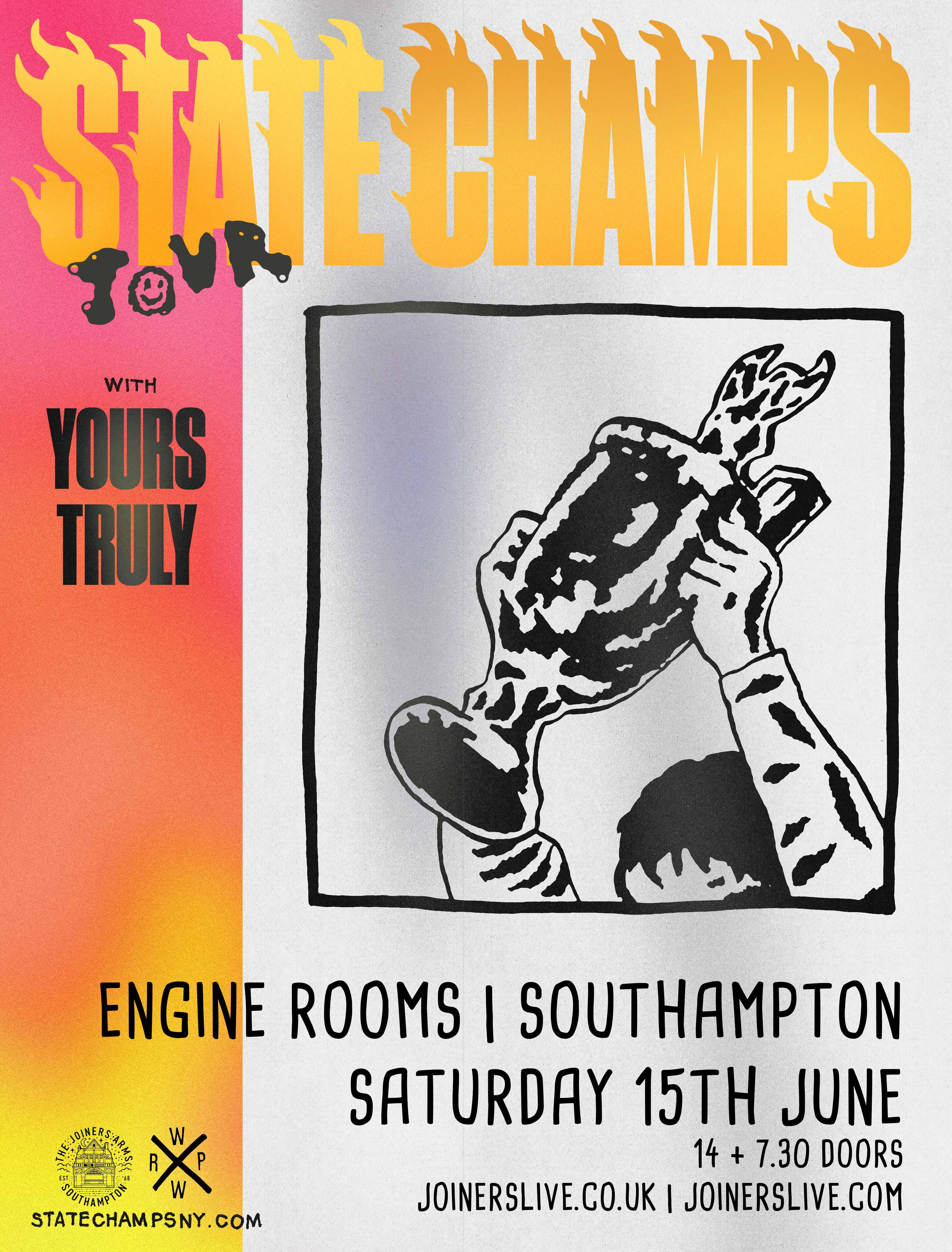 STATE CHAMPS AT ENGINE ROOMS *SOLD OUT*