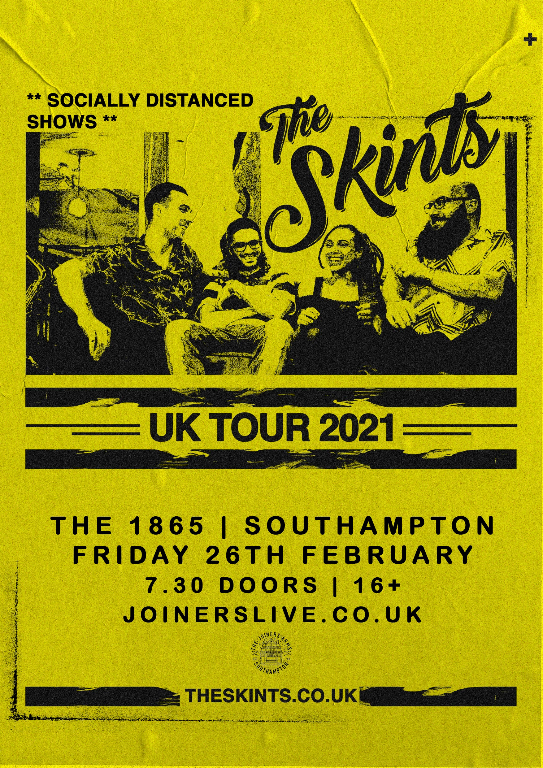 THE SKINTS AT THE 1865