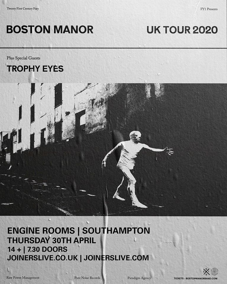 *NEW DATE* BOSTON MANOR AT ENGINE ROOMS