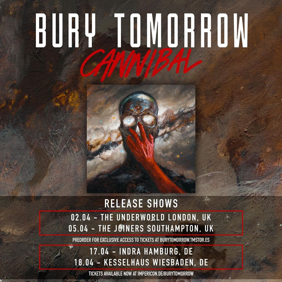 *POSTPONED* BURY TOMORROW - SOLD OUT!