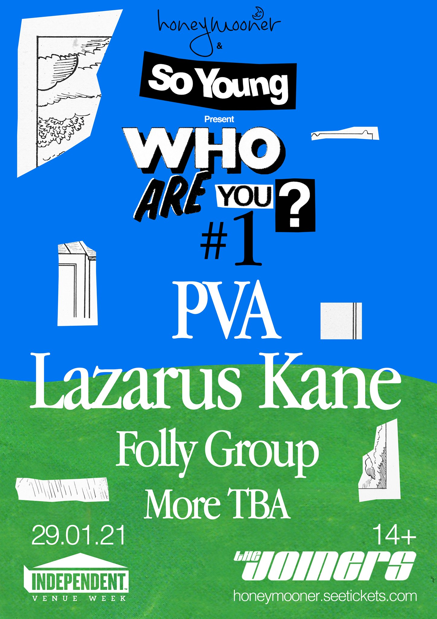 Who Are You? #1: PVA, Lazarus Kane, Folly Group + more!