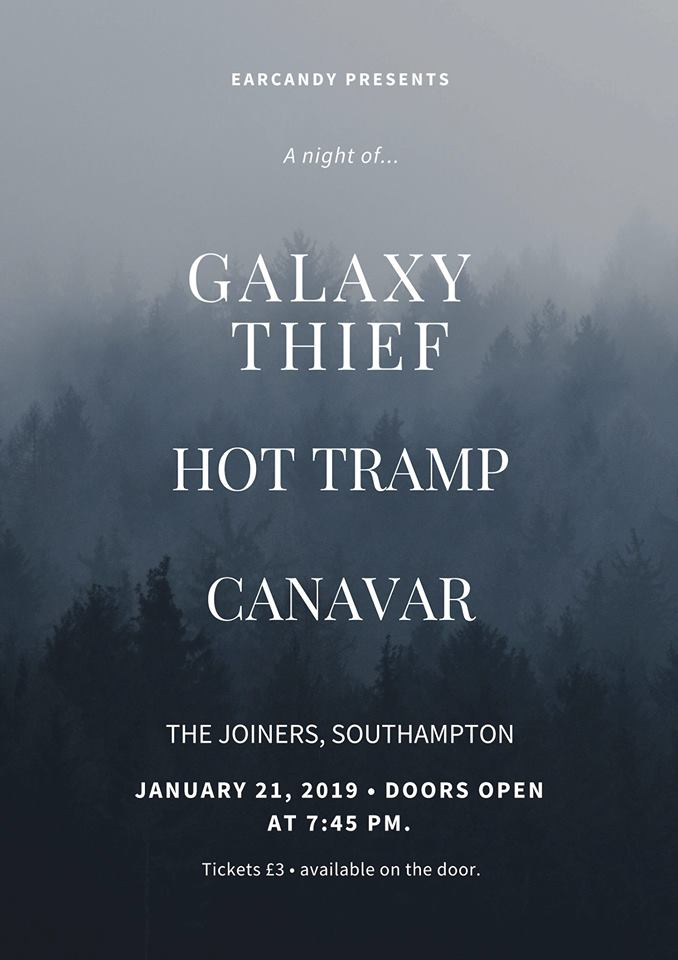 GALAXY THIEF + HOT TRAMP