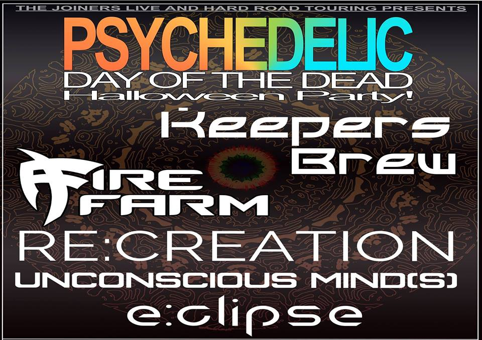 PSYCHEDELIC DAY OF THE DEAD