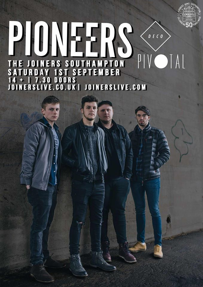 PIONEERS + DECO + PIVOTAL + VERY SPECIAL GUESTS