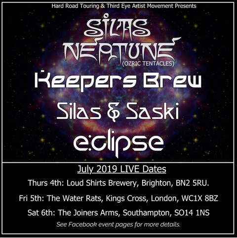 SILAS NEPTUNE (Ozric Tentacles)