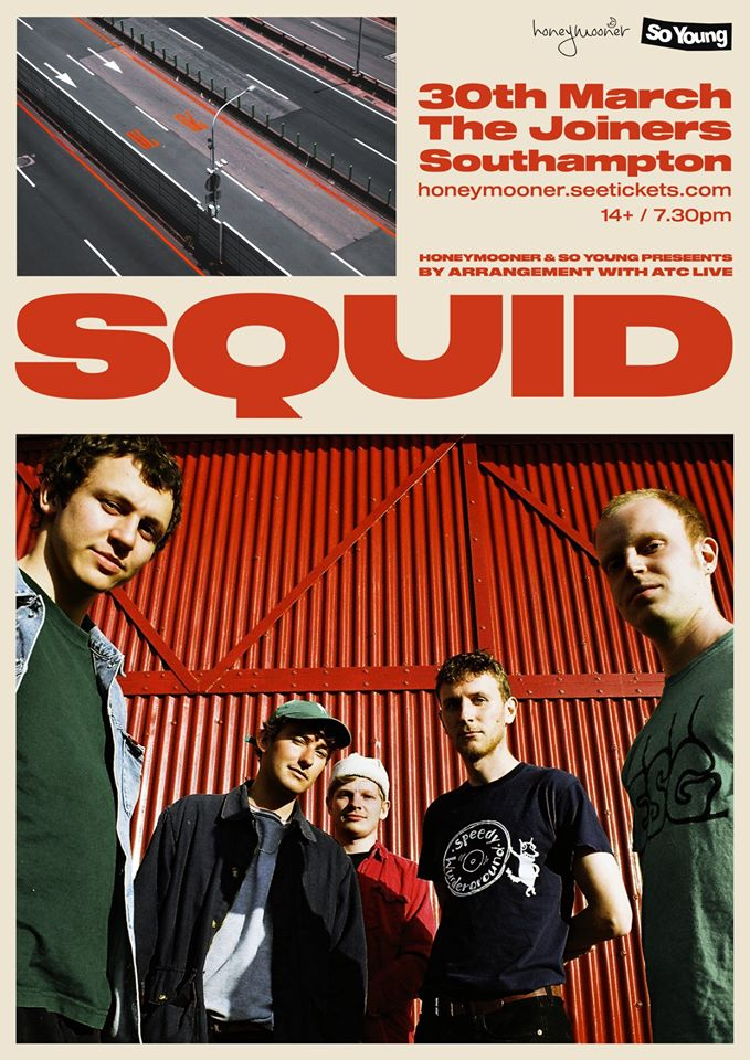 SQUID *SOLD OUT* *NEW DATE*