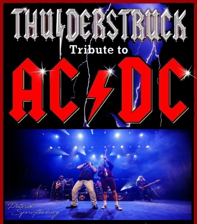 *CANCELLED* THUNDERSTRUCK - AC/DC TRIBUTE