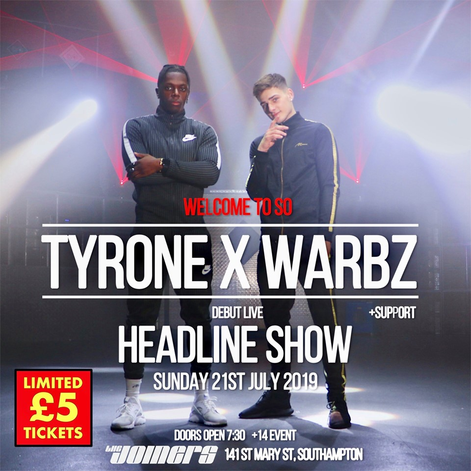 TYRONE x WARBZ *SOLD OUT*